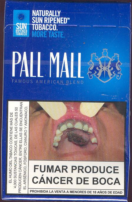 pall mall blue peru